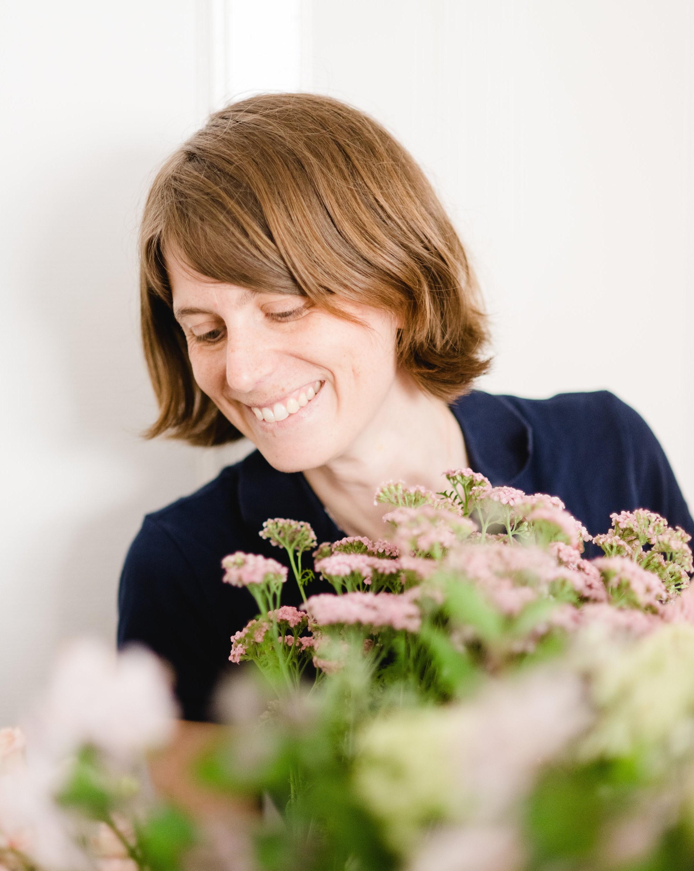 Claire Perignon, floral designer