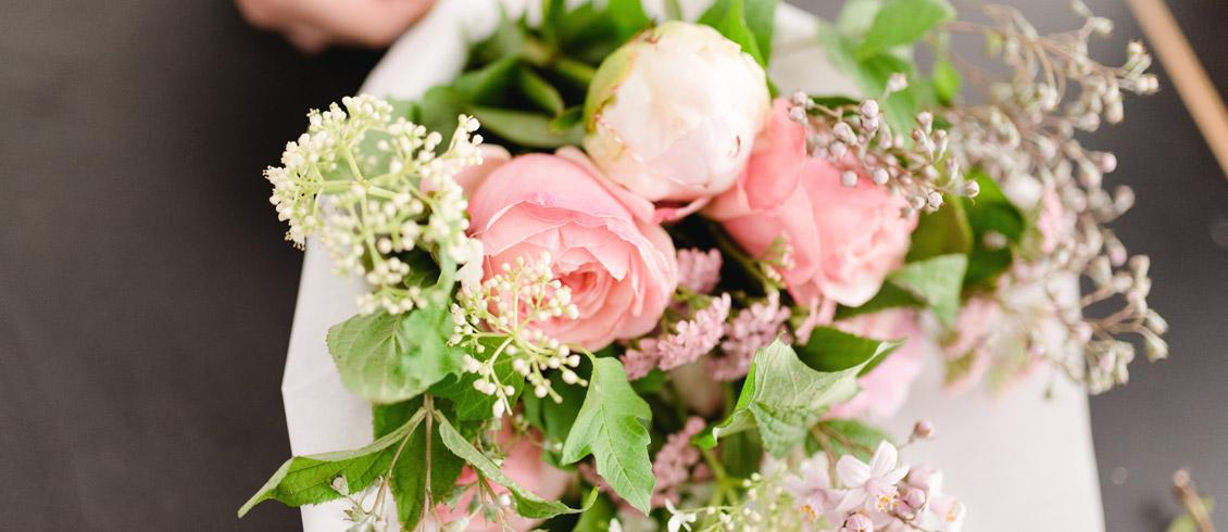 Ateliers cours floraux sur Genève bouquet