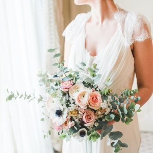 fine art bride bouquet