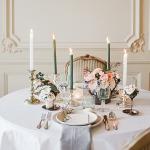 table decor luxury wedding