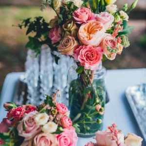 bouquets cocktail mariage
