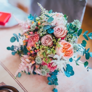 bouquet de mariee chanpetre