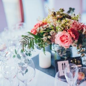 centre de table champetre mariage