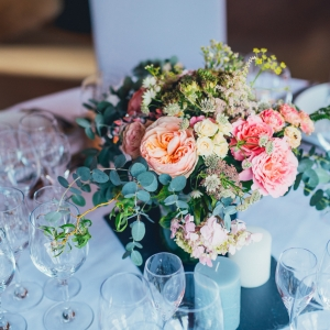 floral centerpiece wedding