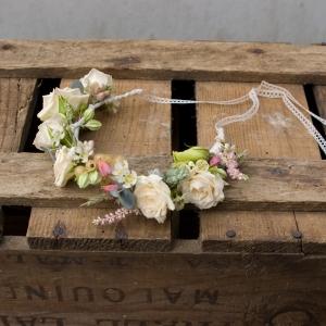 couronne de fleur mariée
