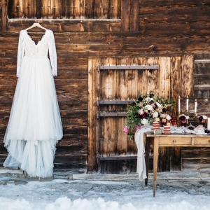 decor floral mariage d hiver