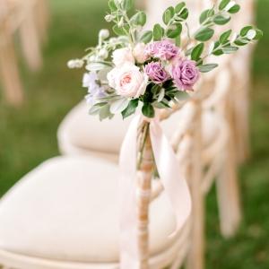 decor floral chaises mariage suisse