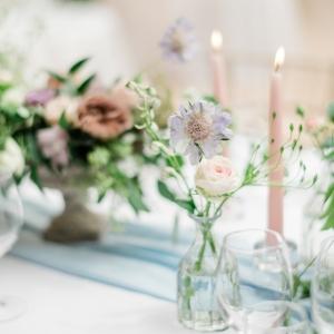Centre de table, mariage Suisse
