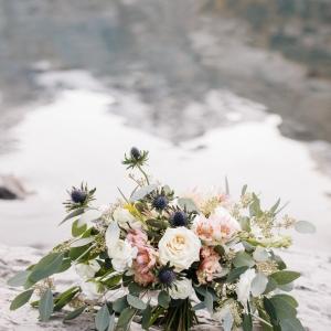 Bride bouquet boho style