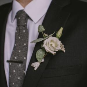 boutonniere marié