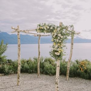 arche florale huppah sur mesure