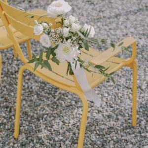 aisle wedding bouquets