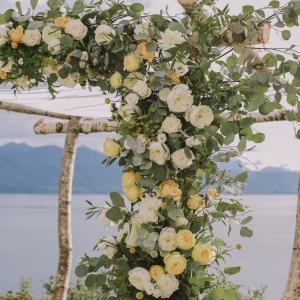 Fine art Houppah Floral design details