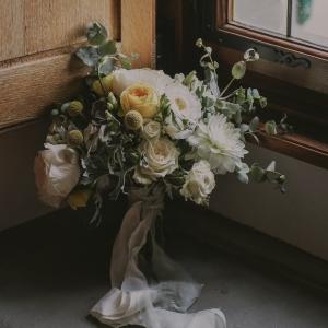 Fine art Romanitic and elegant Bride bouquet