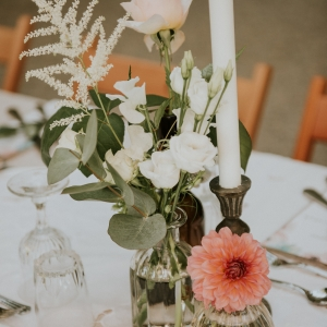 floral decor for a wedding