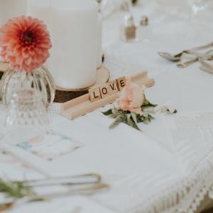 centre de table mariage boheme