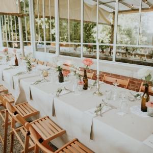 decor floral boheme pour mariage