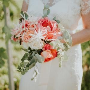bouquet de mariee fleurs de jardin